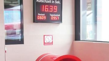 AQUARENA GmbH - Rutschzeitanzeige
