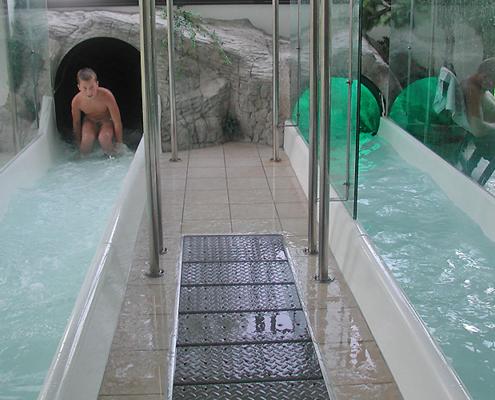 AQUARENA GmbH – Flachwasserauslauf