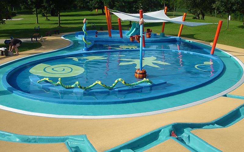 Kinderbecken von aquarena es lebe die fantasie for How many children die in swimming pools