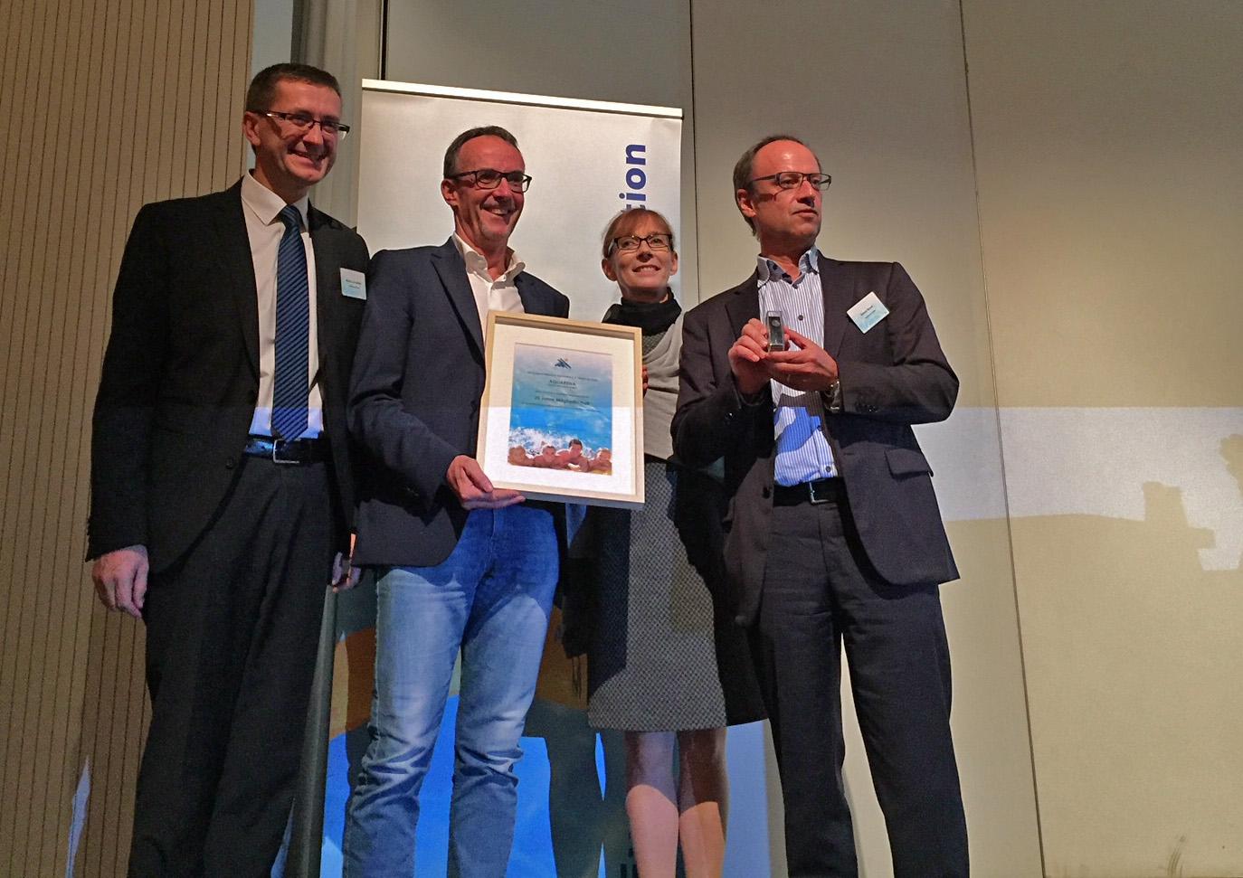 20 Jahren Mitglied in der European Water Association