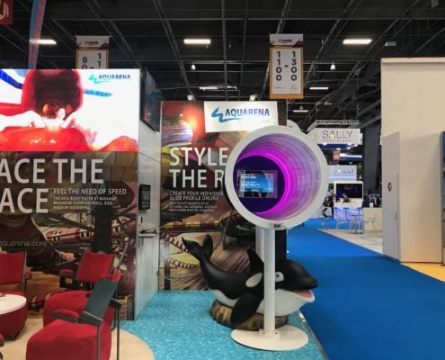 Messestand AQUARENA auf der IAAPA Expo Europe 2019