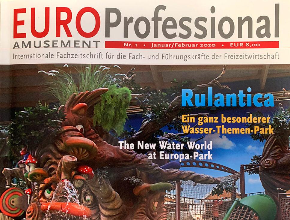 Rulantica Titelstory in der EAP