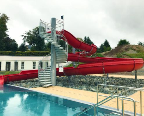 offene Wasserrutsche WR1200
